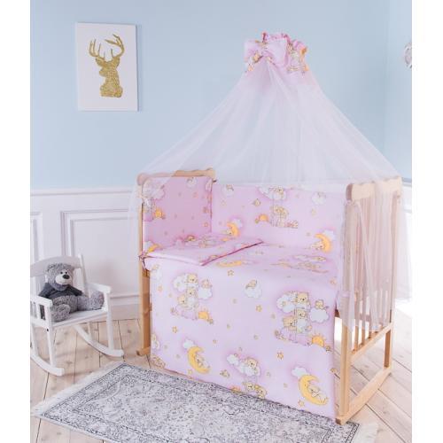 Комплект детского постельного белья Баю-бай Нежность 6 предметов