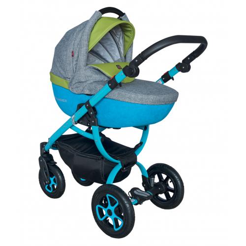 Детская модульная коляска Tutek Grander Play NGPL 3в1