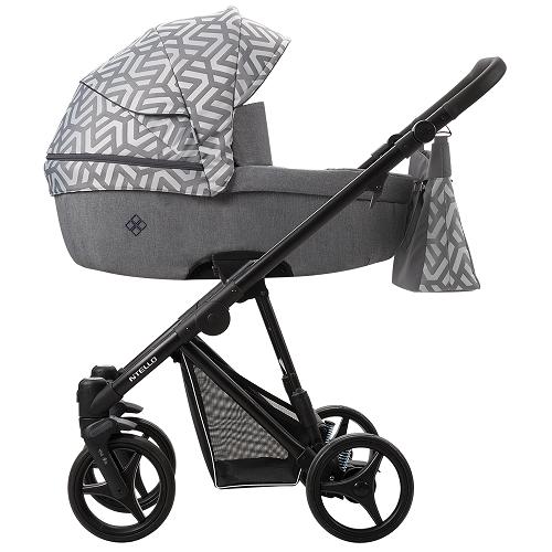 Детская модульная коляска Bebetto Nitello 2в1