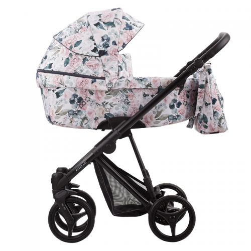 Детская модульная коляска Bebetto Nitello Flowers 2в1