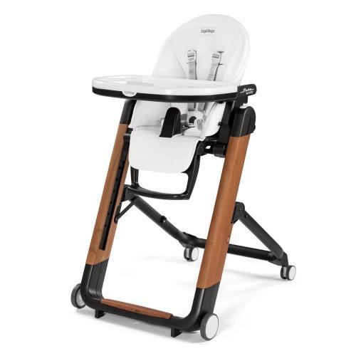 Детский стульчик для кормления Peg-Perego Siesta Wood Bianco