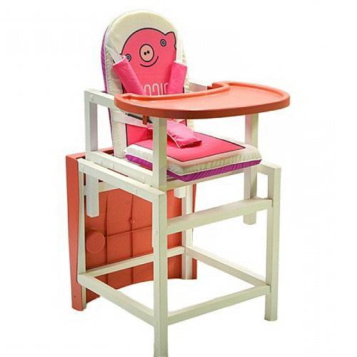 Деревянный стул-трансформер СЕНС-С BABYS Piggy