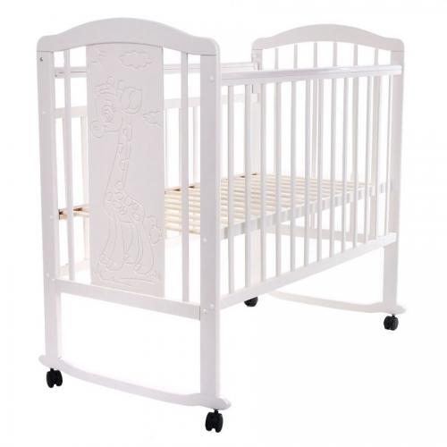 Детская кроватка колесо-качалка Pituso Noli Жирафик