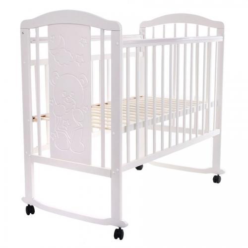 Детская кроватка колесо-качалка Pituso Noli Мишутка
