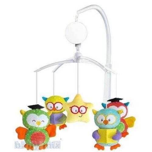 Каруселька с плюшевыми игрушками BabyMix Умники Арт.440М