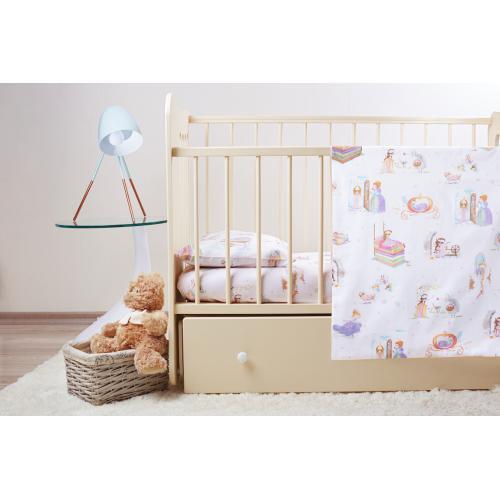 Комплект детского постельного белья Пеленкино Принцессы 3 предмета