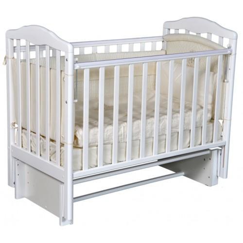 Детская кроватка с универсальным маятниковым механизмом RAY (КЕДР) Erika-2