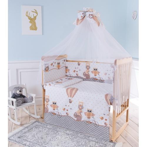 Комплект детского постельного белья Баю-бай Раздолье 7 предметов