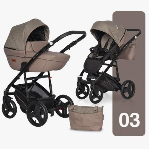 Детская модульная коляска Riko AICON Pro 2 в 1