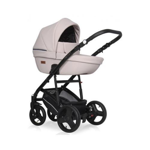 Детская модульная коляска 3 в 1 Riko Basic Aicon Pastel