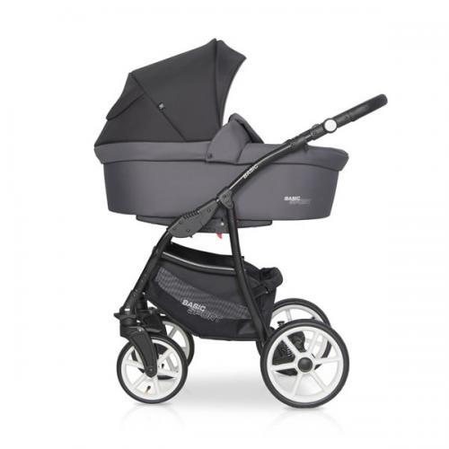 Детская модульная коляска Riko Basic SPORT 2в1