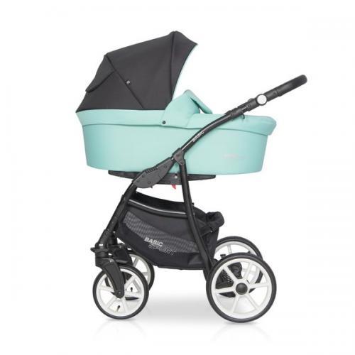 Детская модульная коляска Riko Basic SPORT 3в1