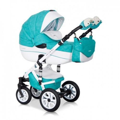 Детская модульная коляска 3 в 1 Riko Brano Ecco