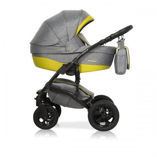 Детская модульная коляска Riko Fox Light 2 в 1