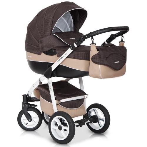 Детская модульная коляска Riko Nano 3 в 1