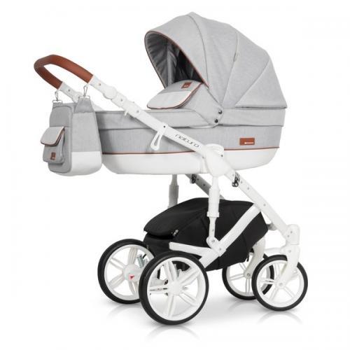 Детская модульная коляска Riko Naturo 2 в 1