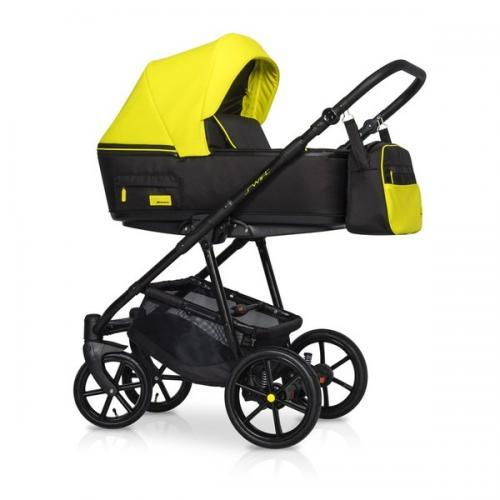 Детская модульная коляска Riko Swift Neon 2 в 1
