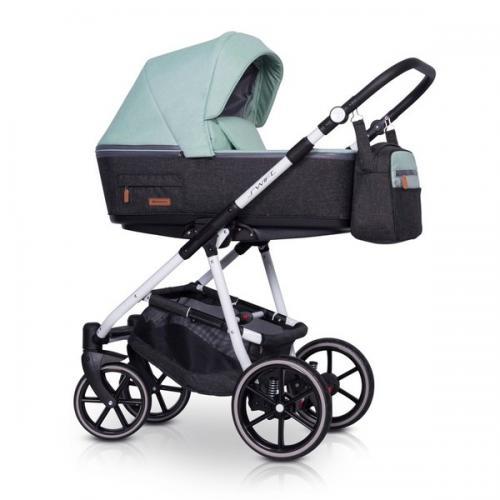 Детская модульная коляска Riko Swift Natural 2 в 1