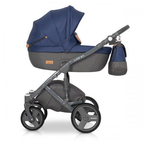 Детская модульная коляска Riko Vario 2 в 1