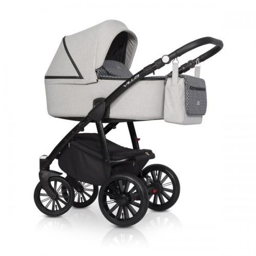 Детская модульная коляска Riko Villa 3 в 1