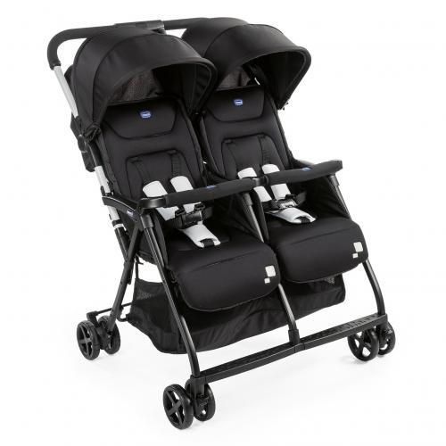 Детская прогулочная коляска для двойни Chicco OHlala Twin