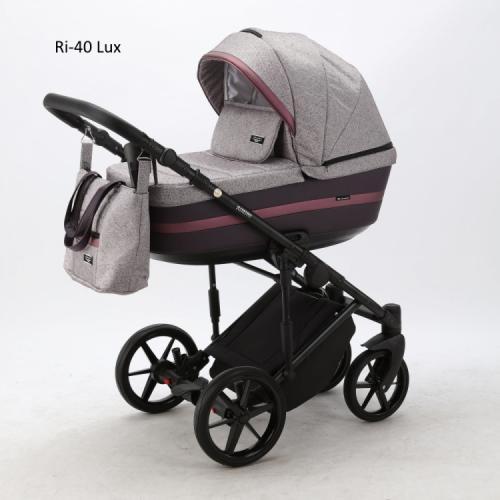Детская модульная коляска Adamex Rimini Lux 2 в 1