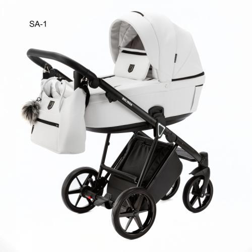 Детская модульная коляска Adamex Belissa Eco 2 в 1