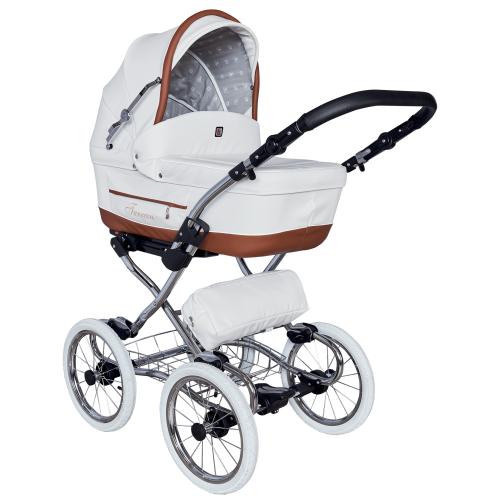Детская модульная коляска Tutek Turran Silver 3в1