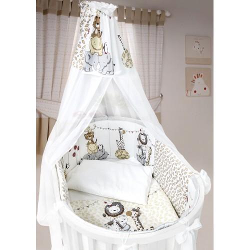 Комплект детского постельного белья L'abielle Вечеринка маленького жирафа 8