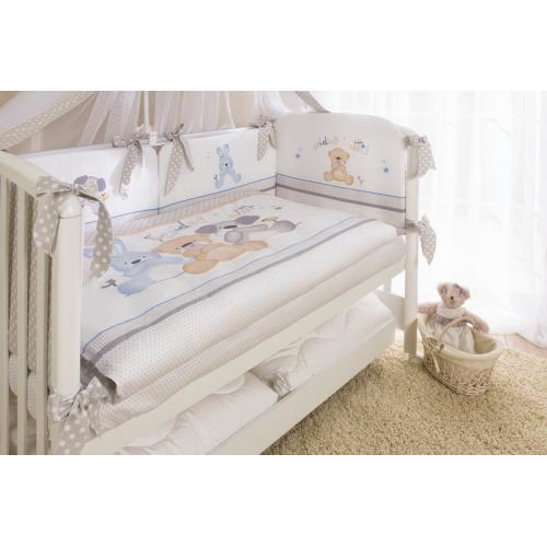 Бортик защитный в кроватку Perina Венеция Три друга