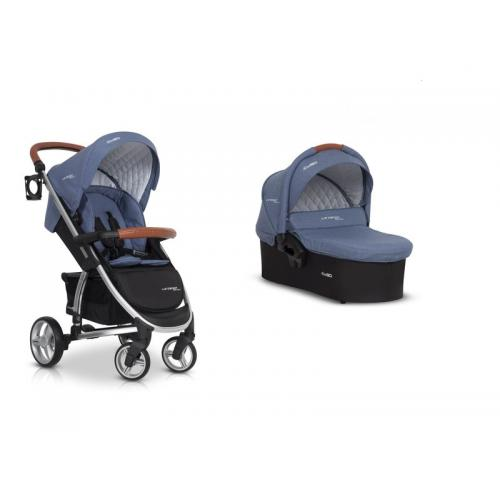 Детская модульная коляска EasyGo Virage Ecco 3 в 1