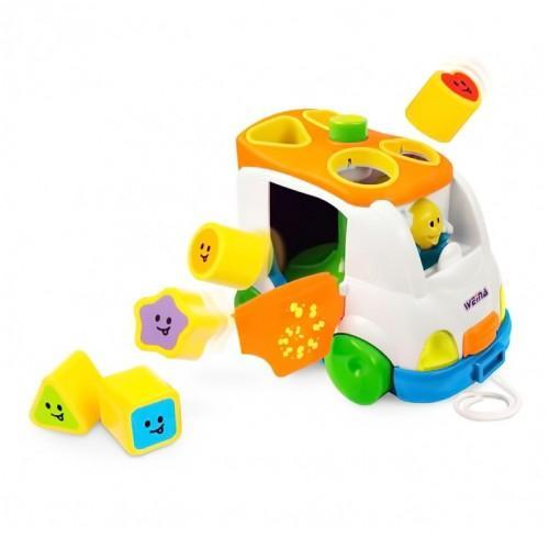 Музыкальная игрушка Музыкальный автобус Weina