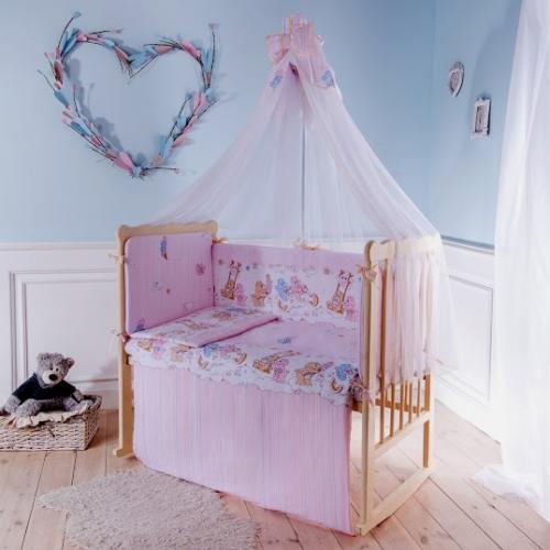 Комплект детского постельного белья Баю-бай Забава 6 предметов