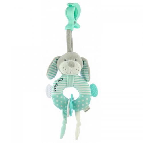 Подвесная игрушка BabyMix Собачка кольцо