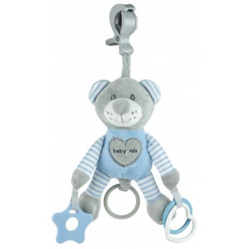 Подвесная игрушка с вибрацией BabyMix Мишка