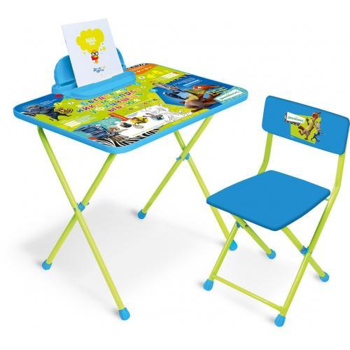 Детский комплект складной мебели Ника Зверополис арт.Д2З